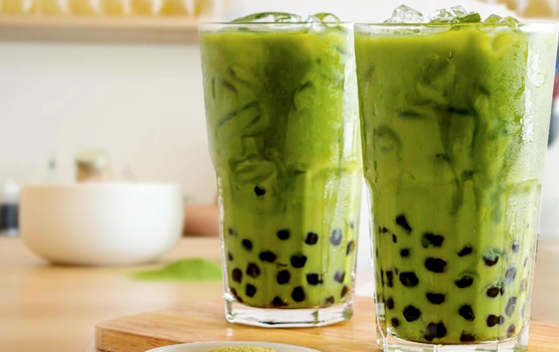Green Tea Boba - Traditional High Tea