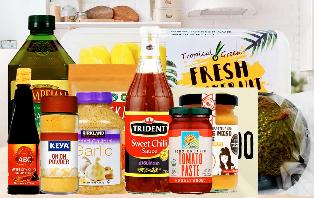 Ingredients Best Jackfruit Curry