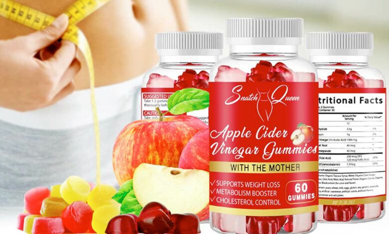 Apple Cider Vinegar Gummies for Diet