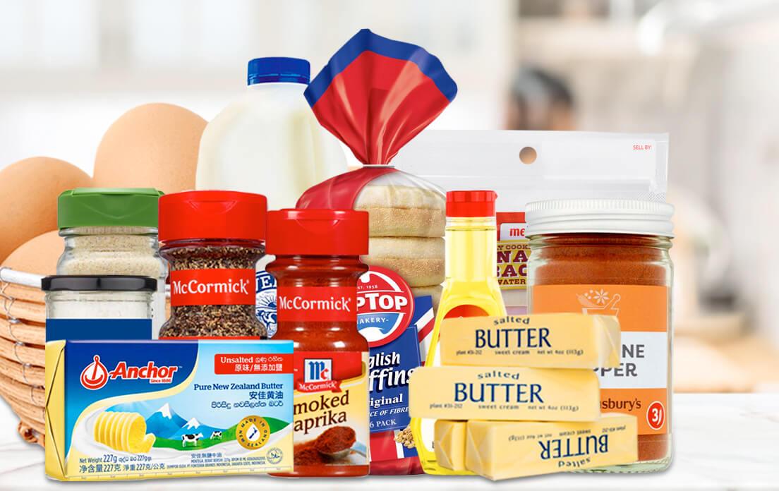 Ingredients Classic Eggs