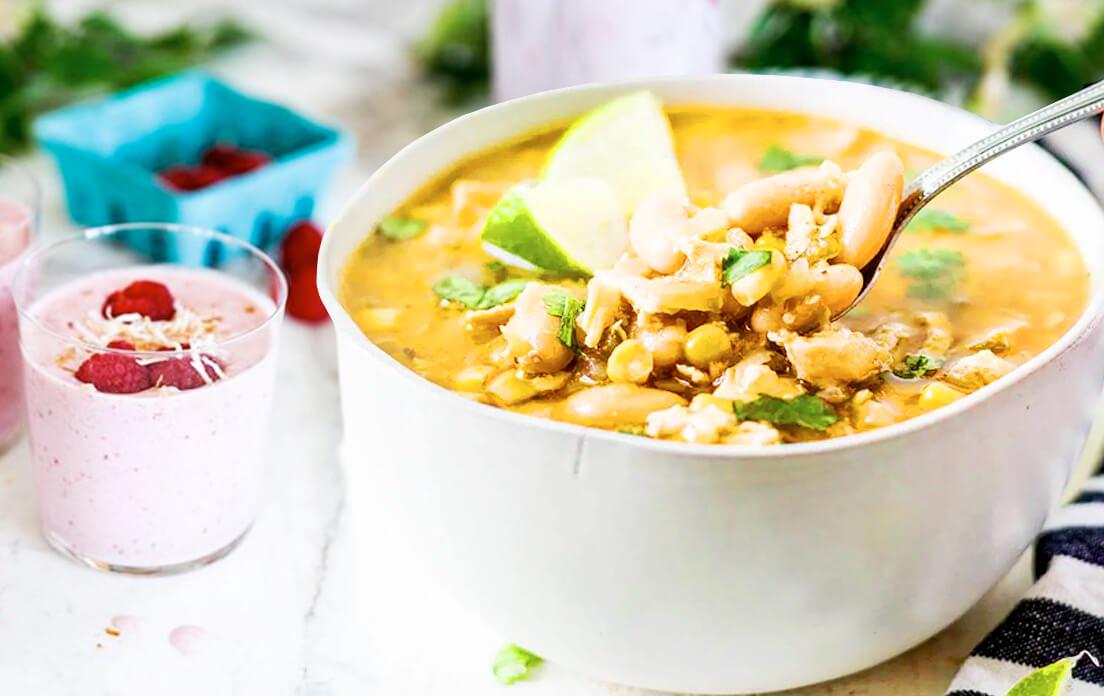 White Chicken Chili Con Carne Recipe