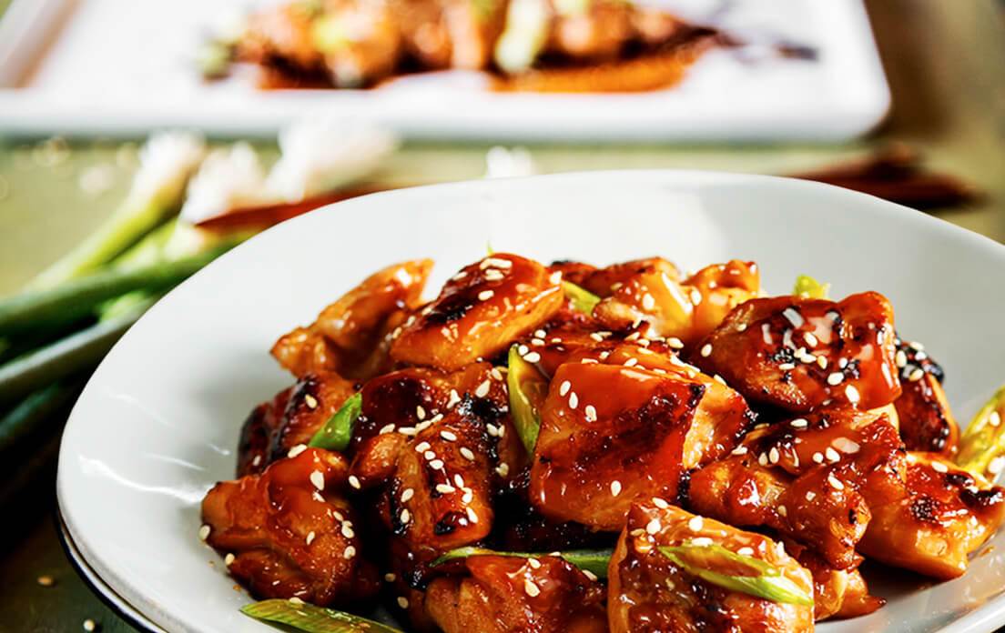 Garlic Teriyaki Chicken Stir Fry