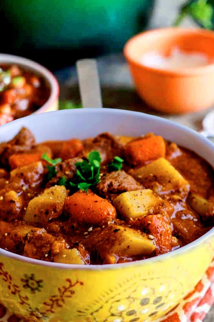 Easy Slow Cooker Irish Instant Pot Beef Stew Recipe