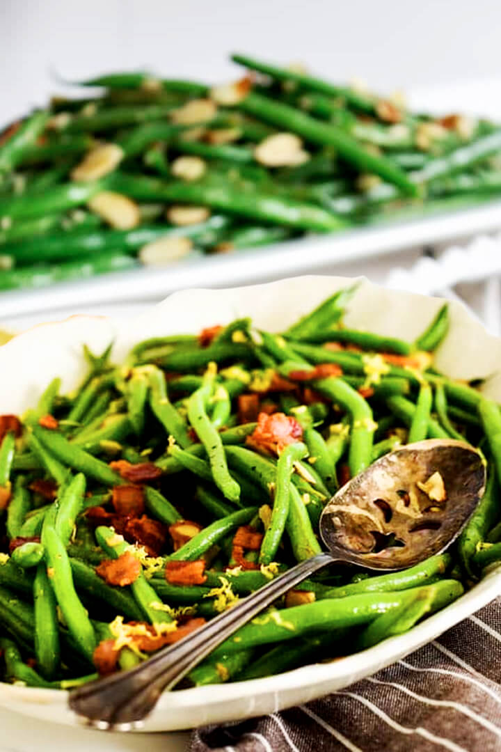 How To Cook Greek Green Beans Almondine