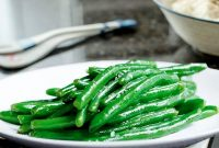 Greek Green Beans Almondine