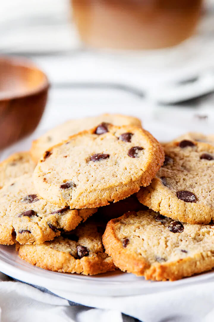 How To Make Best Easy Almond Flour Chocolate Chip Cookies Recipe