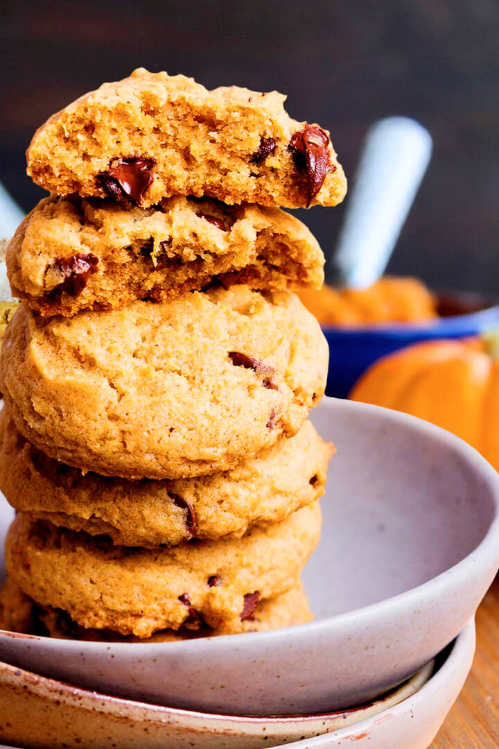 How To Make Best Easy Pumpkin Chocolate Chip Cookies Recipe