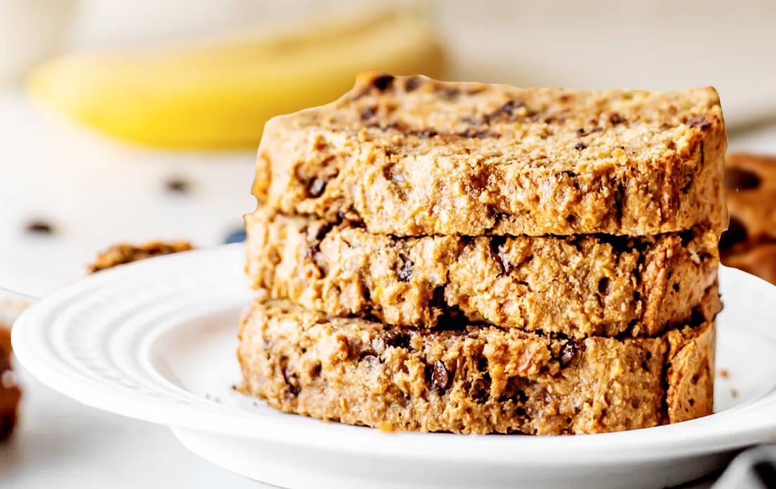 Best Moist Healthy Vegan Banana Bread