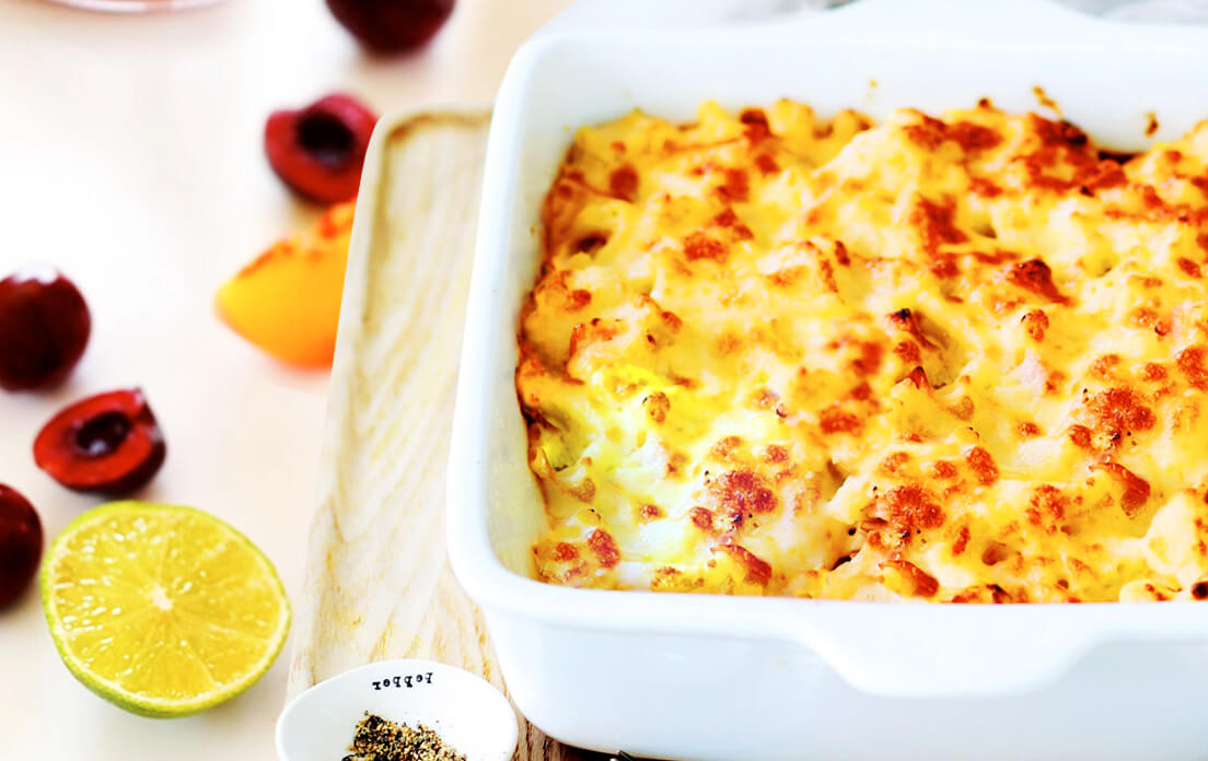 Loaded Cheesy Cauliflower Casserole Easy Recipes