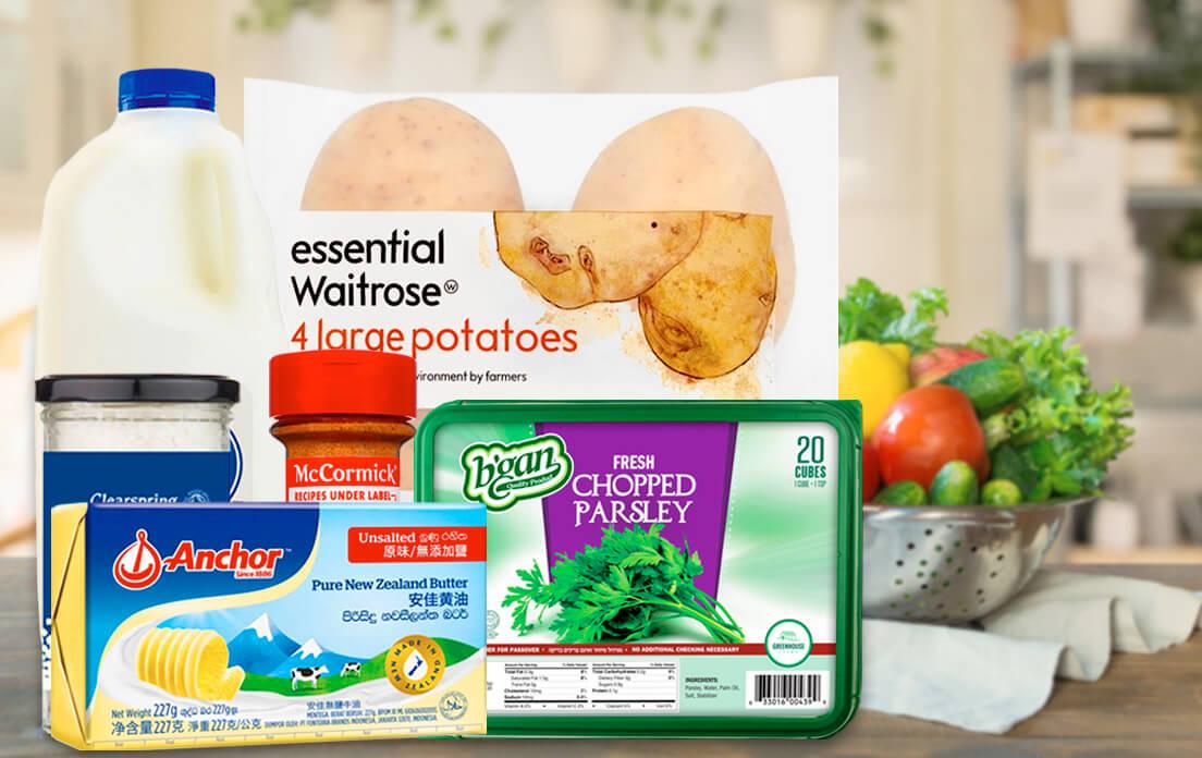 Instruction mashed potatoes