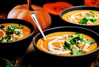 Creamy Butternut Squash Curry Chili Soup