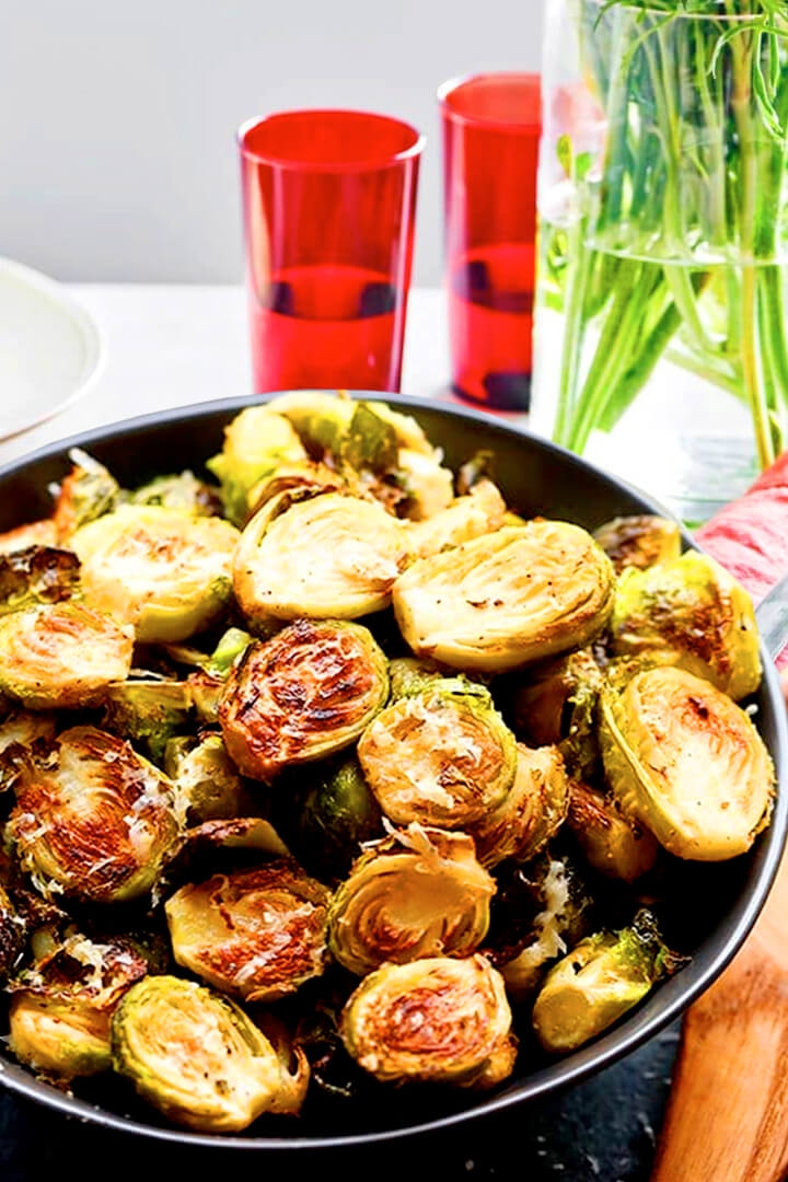 How To Cook Roasted Brussels Sprouts In Oven Recipe