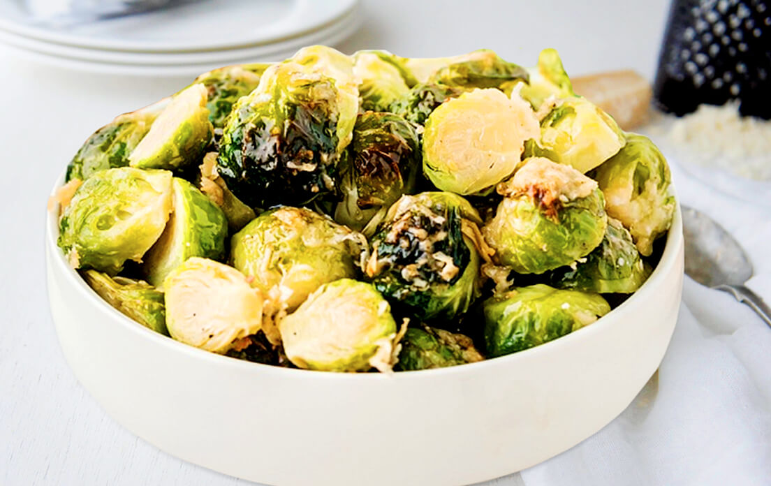 Roasted Brussels Sprouts In Oven Recipe