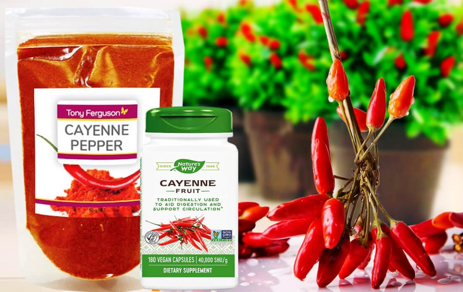 Cayenne Pepper Health Benefits Sinus and Heart Attack