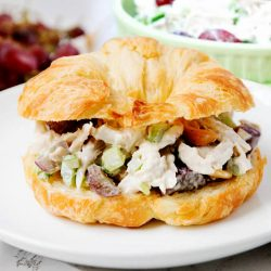 Chunky Chicken Salad With Grapes and Walnuts