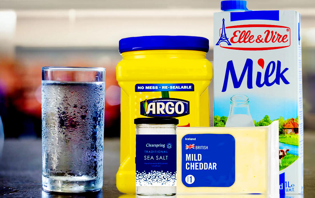 Ingredients Cornmeal Mush Recipe Milk