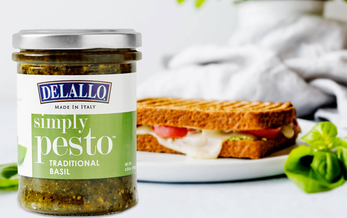 sandwich recipes using pesto