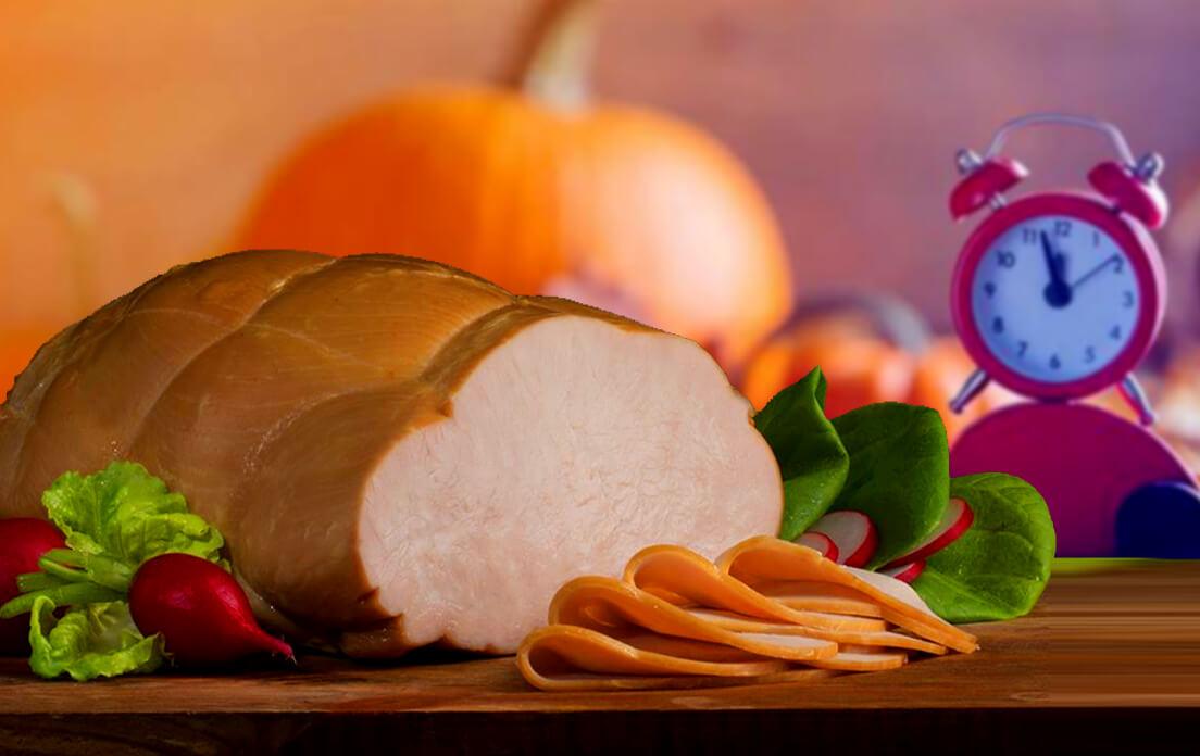 Smoked turkey breast prep
