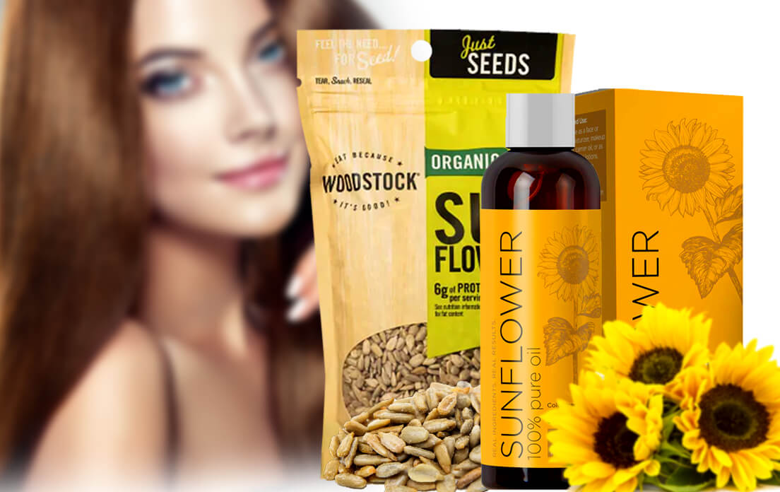 sunflower seeds benefits for hair