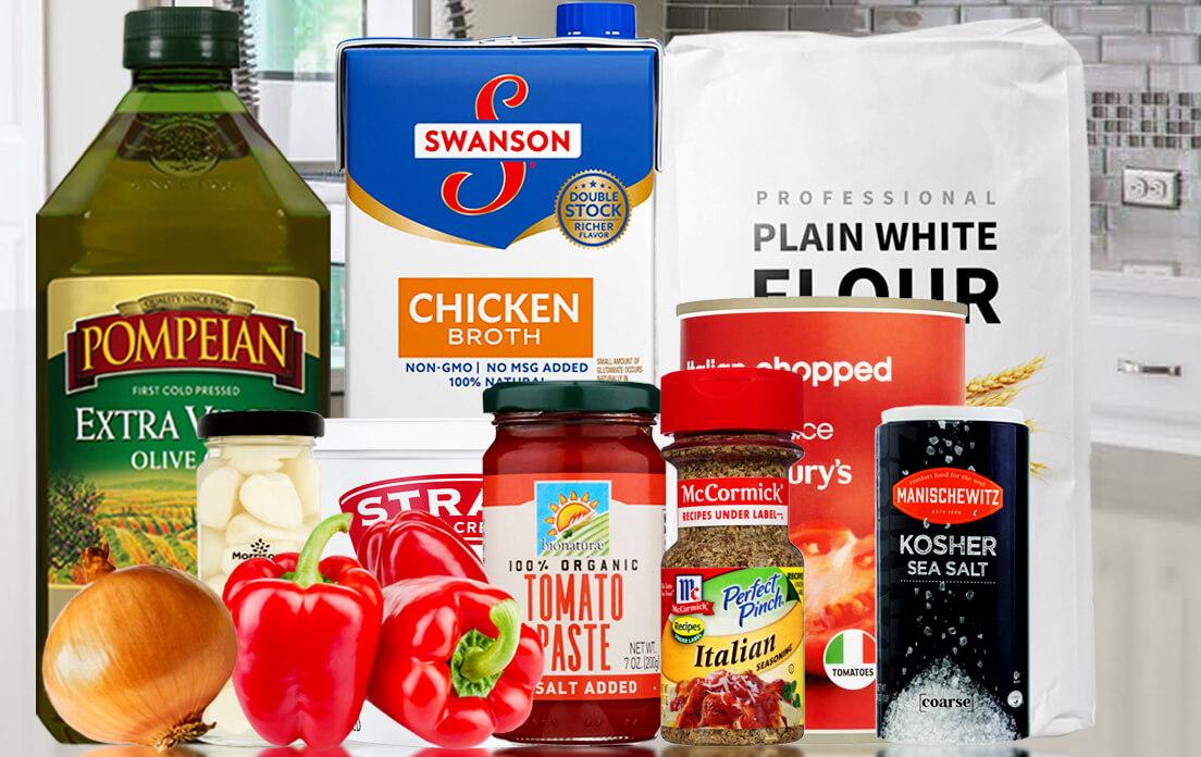 Ingredients Tomato Soup Recipe