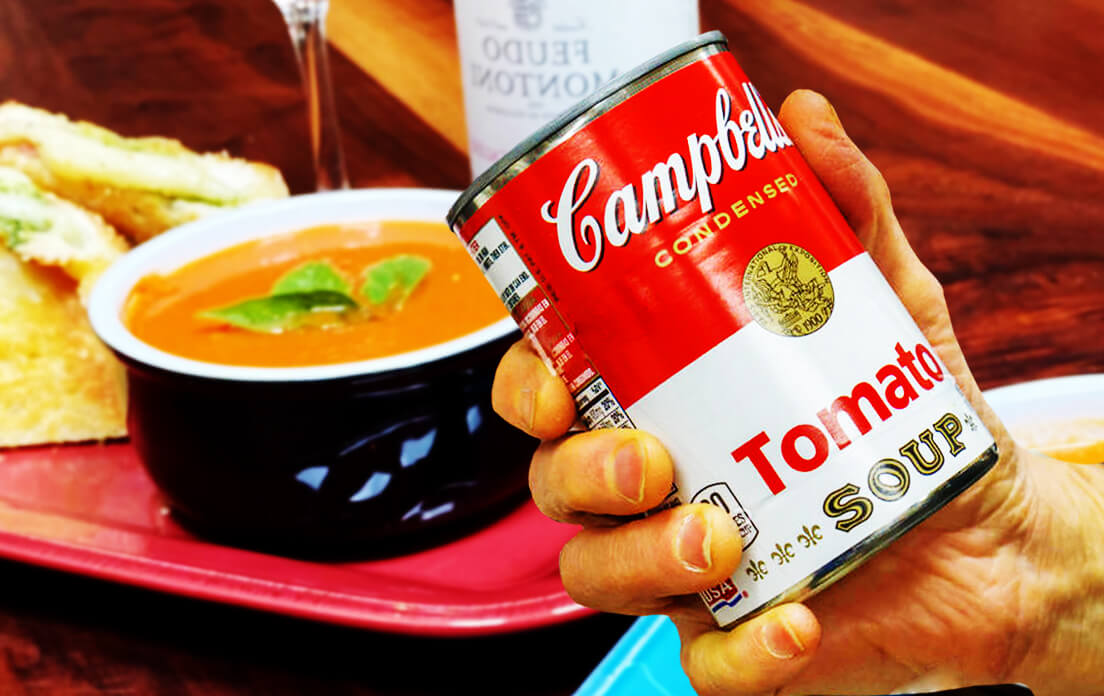Tomato soup recipe from canned