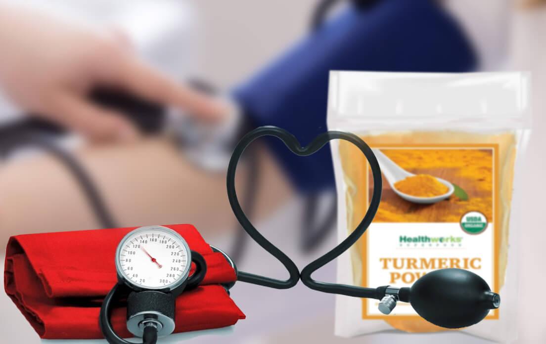 turmeric tea for blood pressure