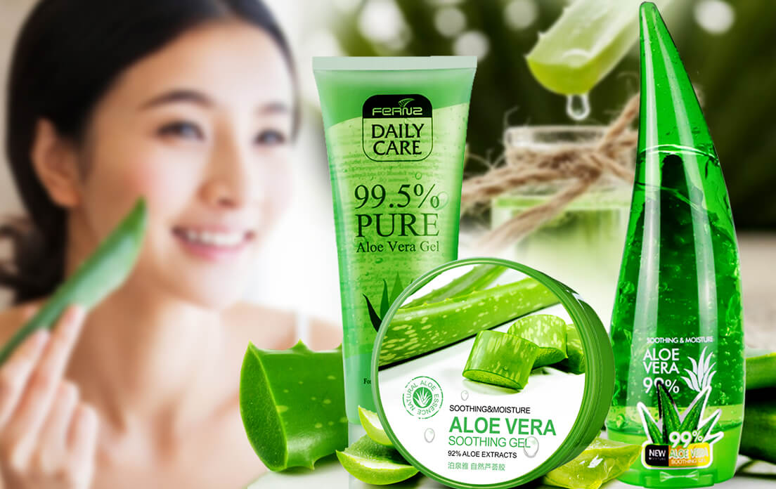 Benefits of aloe vera gel for face