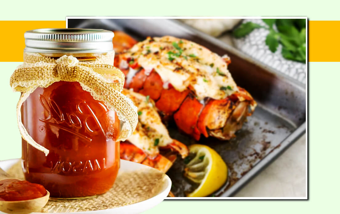 broiled lobster tails with honey sauce
