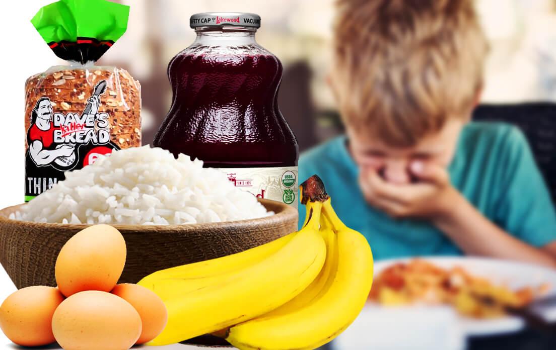 food for diarrhea kids