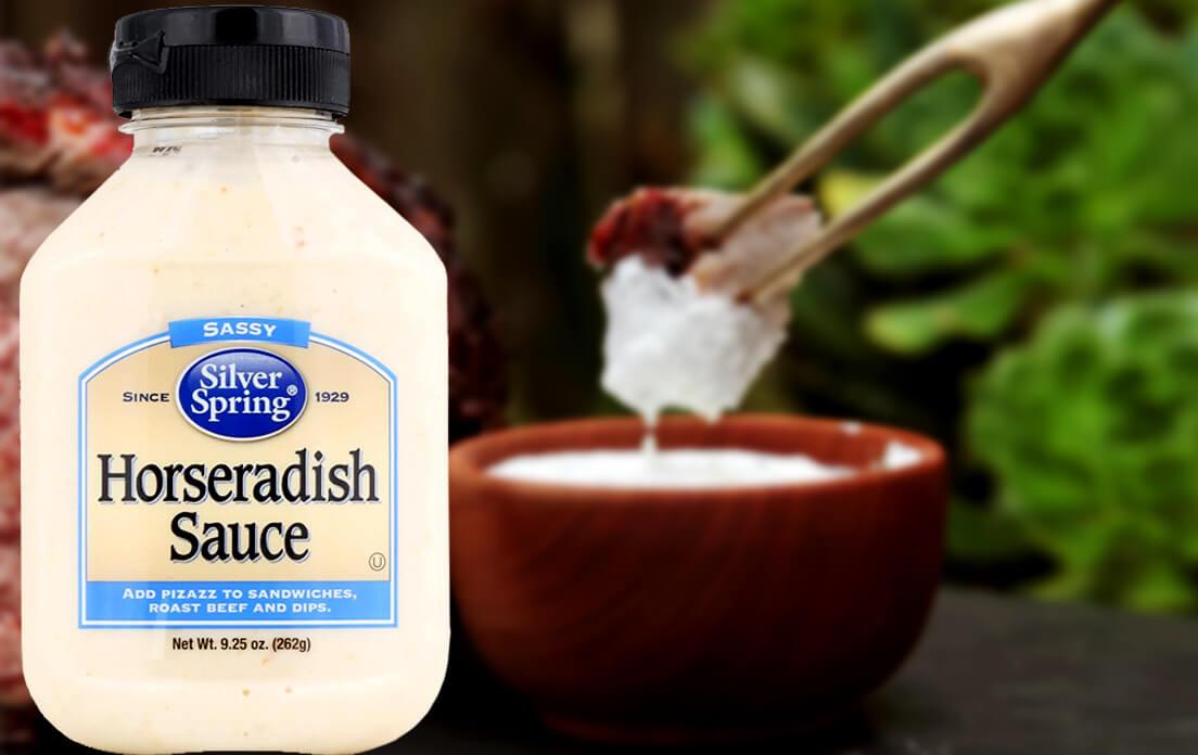 prime rib roast with creamy horseradish sauce