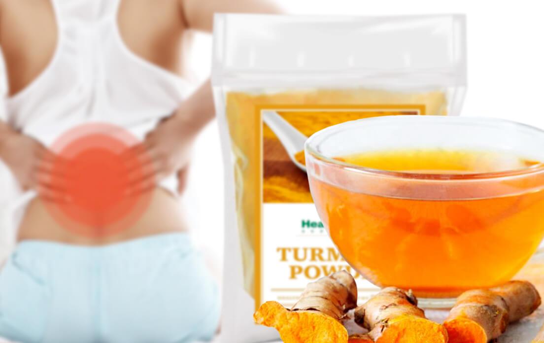 turmeric tea for back pain
