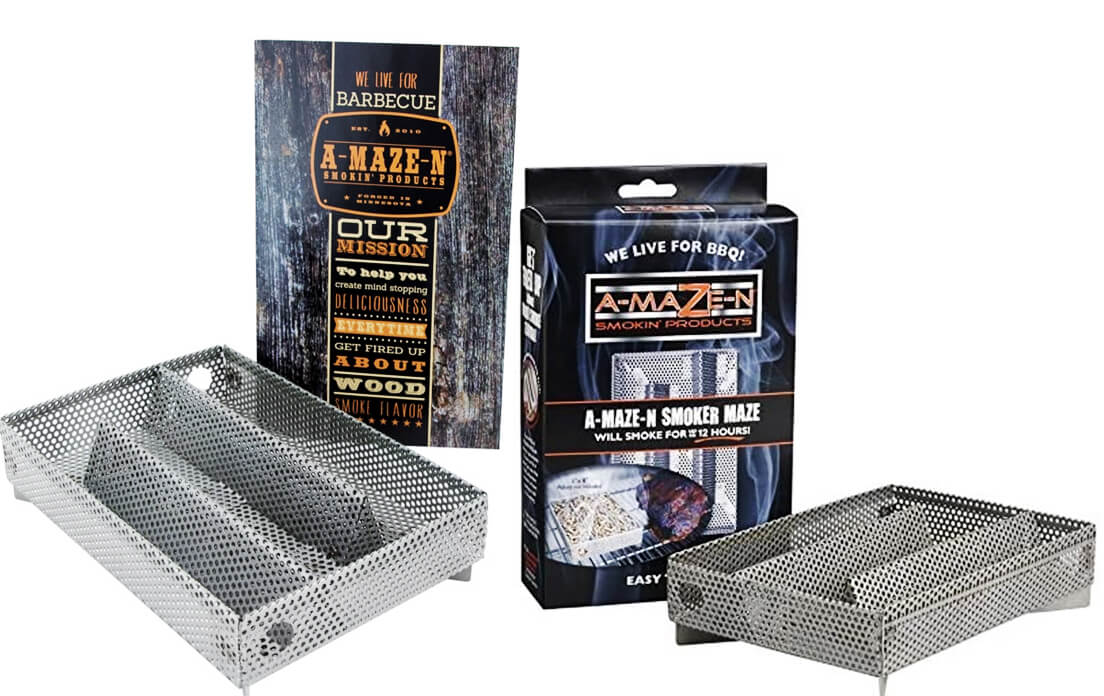 A-MAZE-N AMNPS Maze Pellet Smoker
