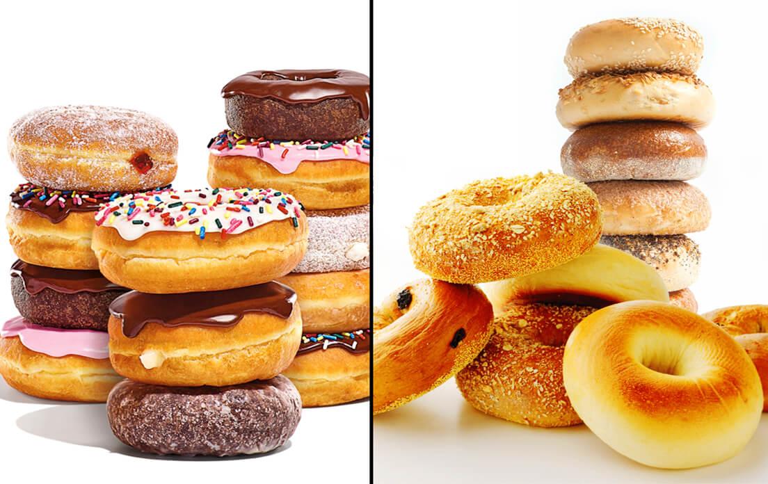 Bagels vs donut
