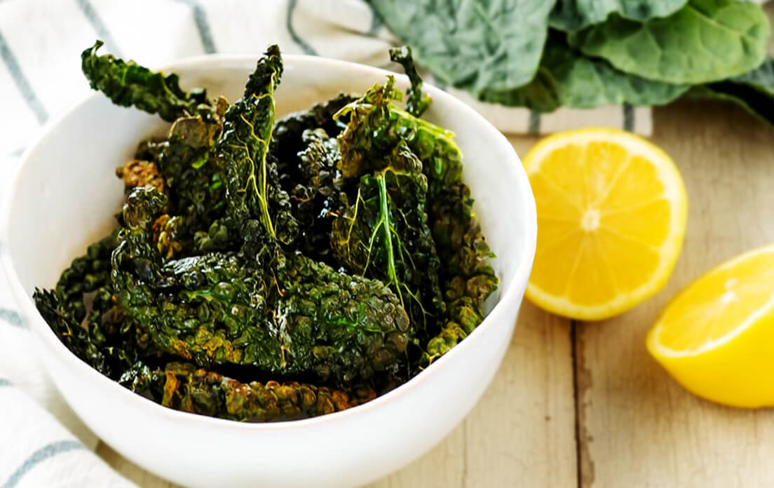 Benefits of Eating Kale Soup, Chips and Kale