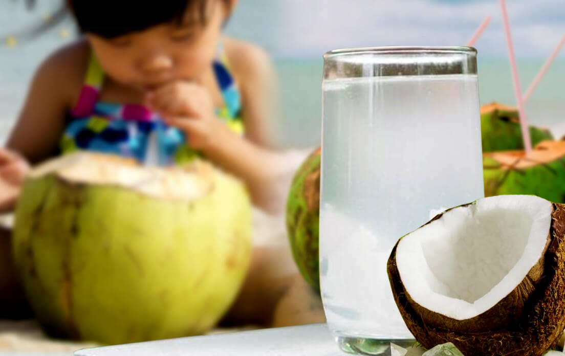Coconut Water Health Benefits for Baby