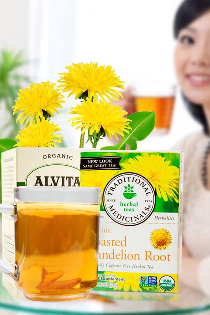 Dandelion Root Tea Benefits Kidneys and For Women