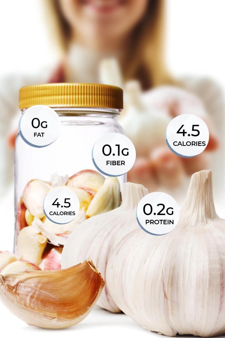 a clove of garlic