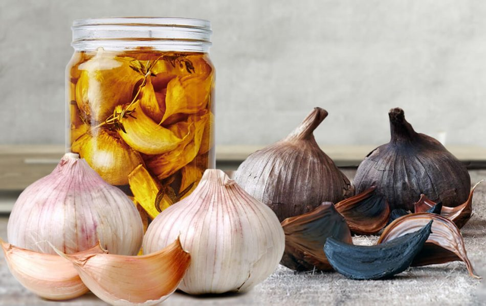black garlic oil