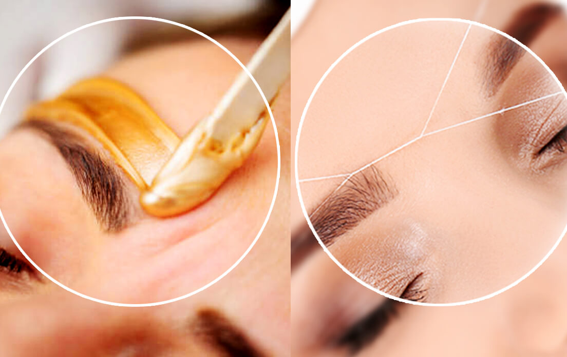 eyebrow waxing can cause baldness and this is not the only way to groom your eyebrows!