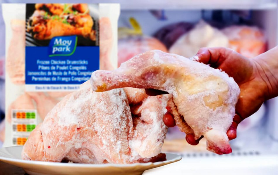 how long is frozen chicken good for