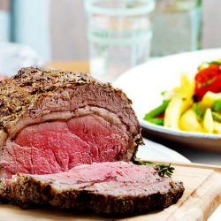 roast beef calories
