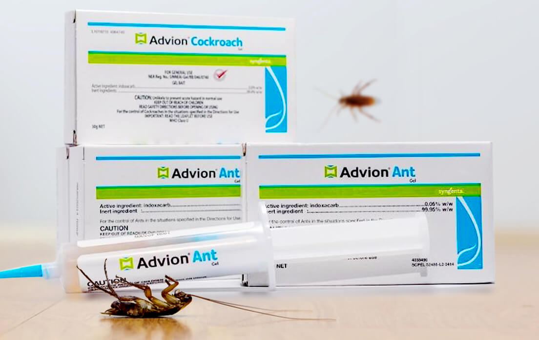 advion cockroach gel bait it Work