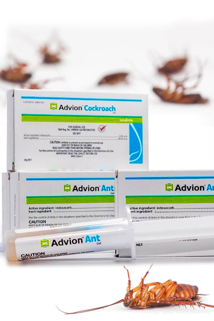 Incredible!! advion cockroach gel bait it Work
