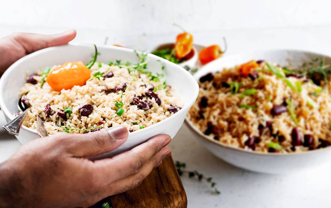Jamaican Rice and Peas: How to Cook easy Recipe