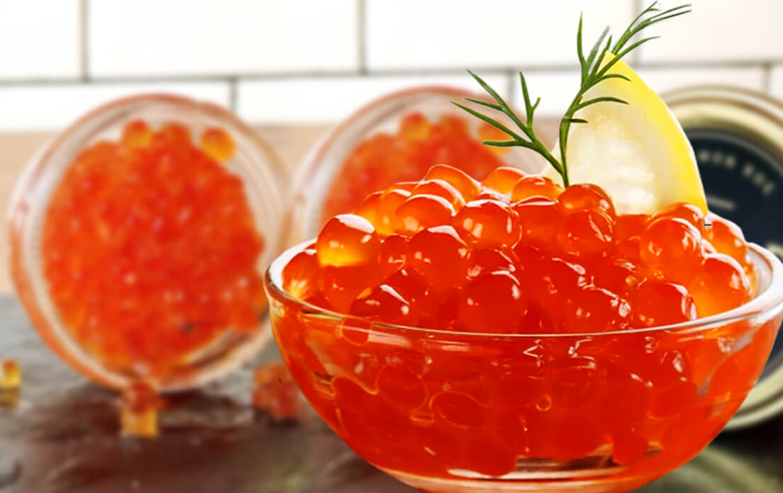 Salmon Roe, Fish Eggs, Ikura Discover Nutrition Facts and Health Benefits