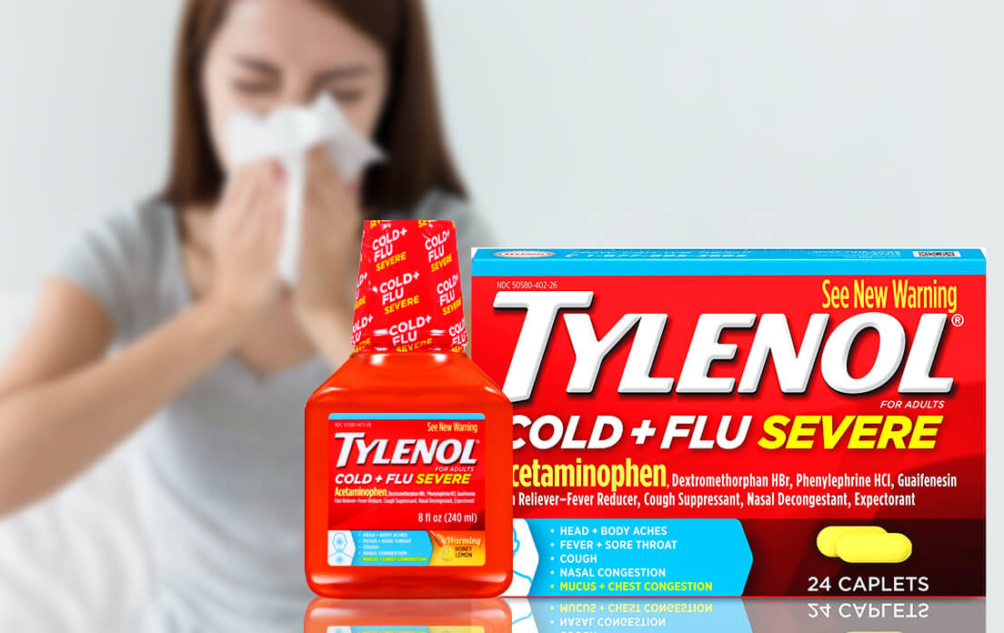 tylenol cold and flu