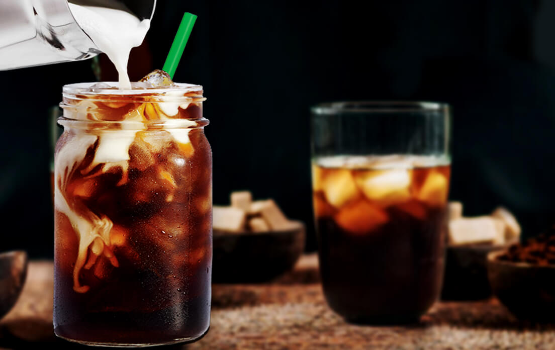 Vanilla Sweet Cream Cold Drink Brew and How Many Calories