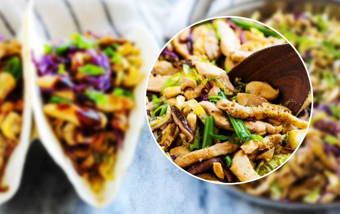 What is Moo Shu Chicken