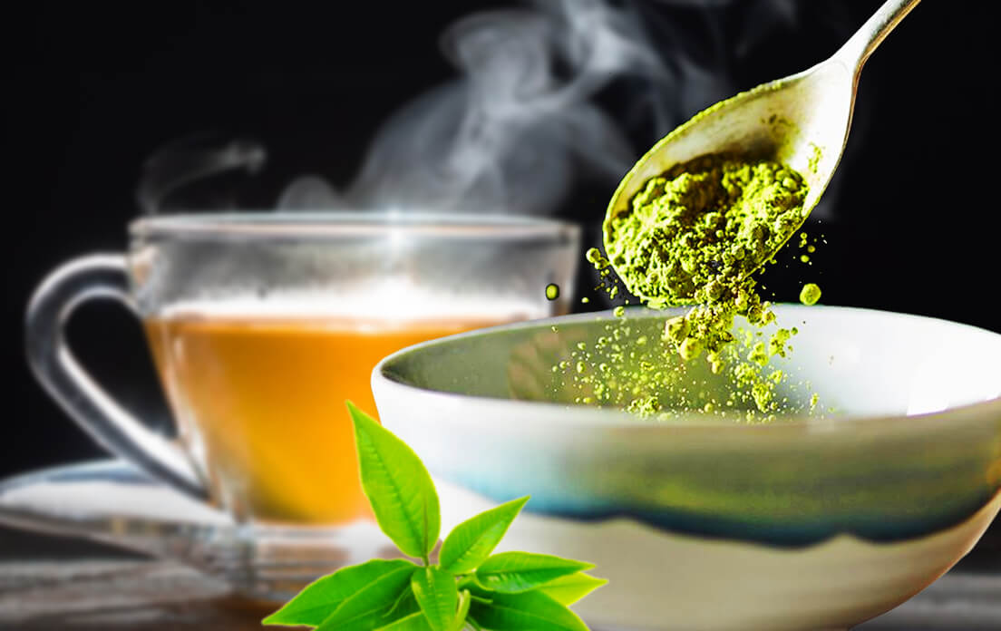 does green tea have caffeine