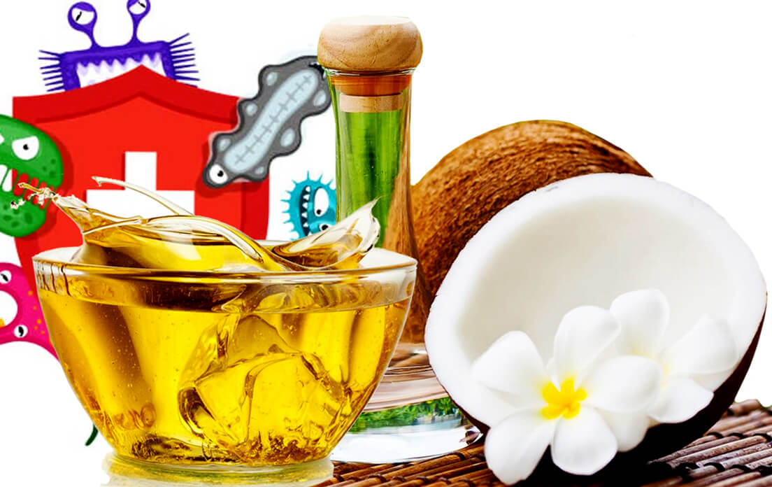 Health Benefits of Coconut oil Consist of Good Enhanced Immune System